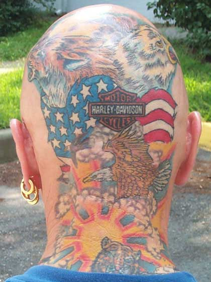 Harley Davidson Tattoos Find the pattern for a tattoo of your new tattoo can