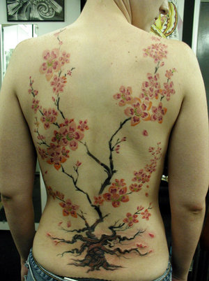 This might imply a cherry blossom tattoos is perfect for you