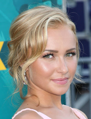 Hayden Panettiere Casual Prom Updo Hairstyles
