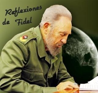 Fidel Castro tal vez no sea un Nostradamus, pero si por lo menos es una Adriana Azzis Reflexiones+de+Fidel+5