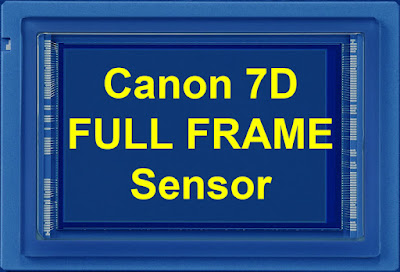Canon 7D Full Frame Sensor