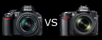 Nikon D90 vs Nikon D3100