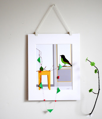 Bunting birdscapes