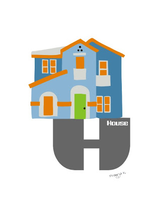 H is for house, guilty pleasure art of the day