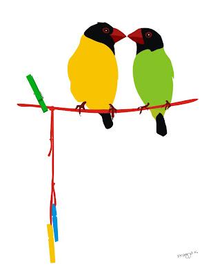 Bird art of the day, bird art
