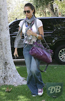 Jessica Alba in Juicy Couture jeans