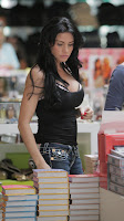 Katie Price Takes Her Funbags Shopping