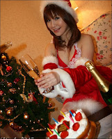 Sexy Christmas girl pure uniforms photos