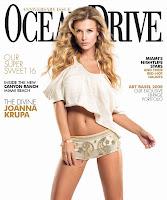 Joanna Krupa's Super Sexy In Ocean Drive
