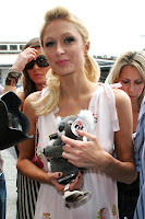Paris Hilton visited the sick children at The Gold Coast Hospital in Queensland