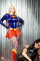 Bianca Beauchamp in Supergirl Cosplay