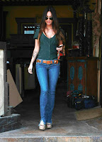 Megan Fox's Cleavage Parade Continues