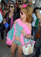 Rotten Tuna: Paris Hilton And Kathy Griffin's Pantie Flash