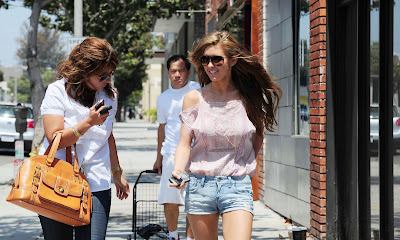 Audrina Patridge Wears Shorts Shorts