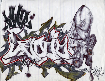 el abecedario en graffiti. el abecedario en graffiti