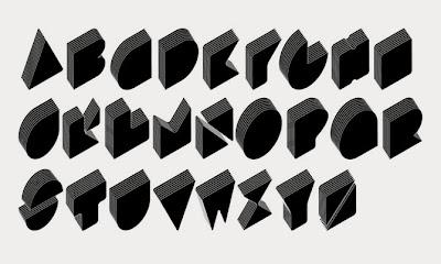 3D Digital Graffiti Alphabet