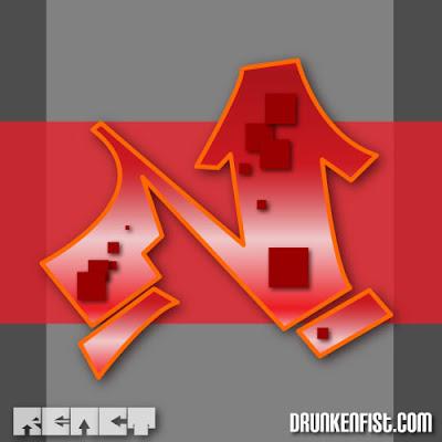 graffiti letter n,graffiti letter alphabet,Drunkenfist