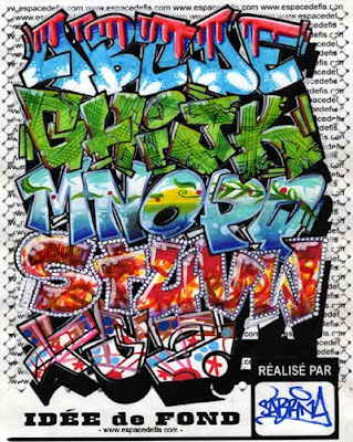 GRAFFITI LETTERS ALPHABET GRAFFITI GRAPHIC DESIGN