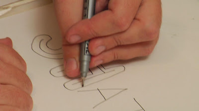 "How to draw Graffiti with a name ""Graffiti NAMES"" ?"