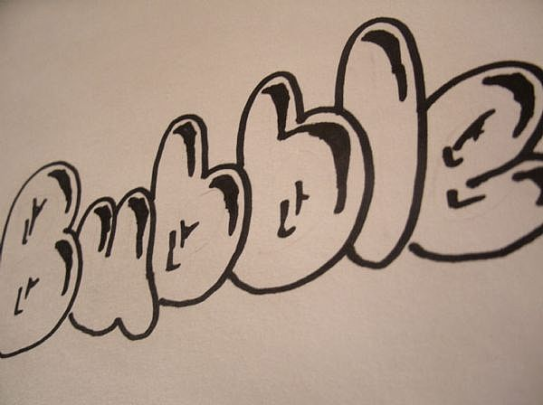 How To Draw Sketch Graffiti Letters Design On Paper