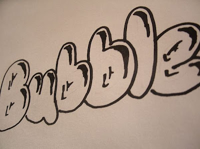 Drawing Sketches Graffiti Bubble
