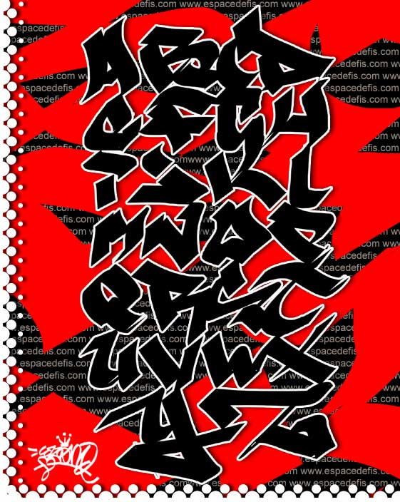 graffiti art letters. GRAFFITI ALPHABET LETTERS ART