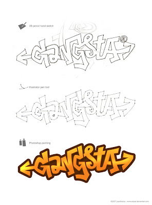 graffiti gangsta,gangsta