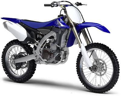 2010 Yamaha YZ450F Motorcycle