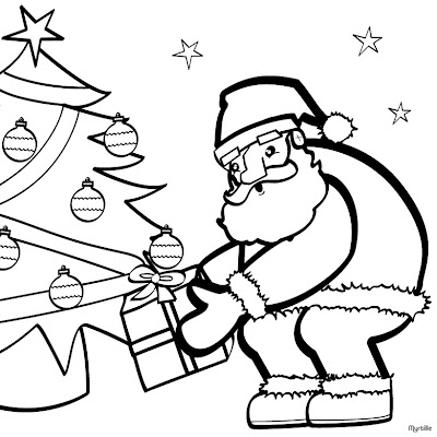 Christmas Coloring Pages,Christmas tree Coloring Pages