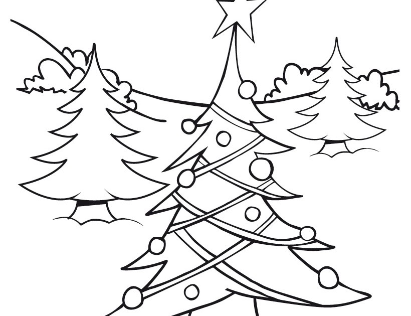 Cool christmas tree coloring pages disney coloring pages for Tinkerbell christmas coloring pages