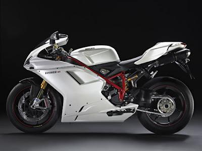 2010 Ducati 1198S Motorcycle