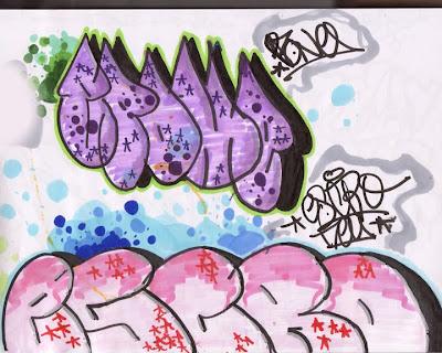 letter graffiti. Graffiti Bubble Letter Style