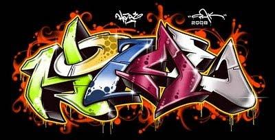 Graffiti Letters, 3D Graffiti, Wildstyle Graffiti