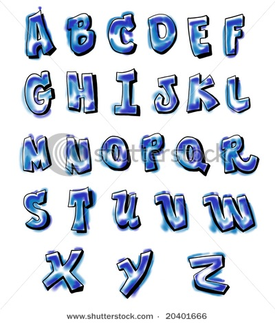 Graffiti+alphabet+letters+
