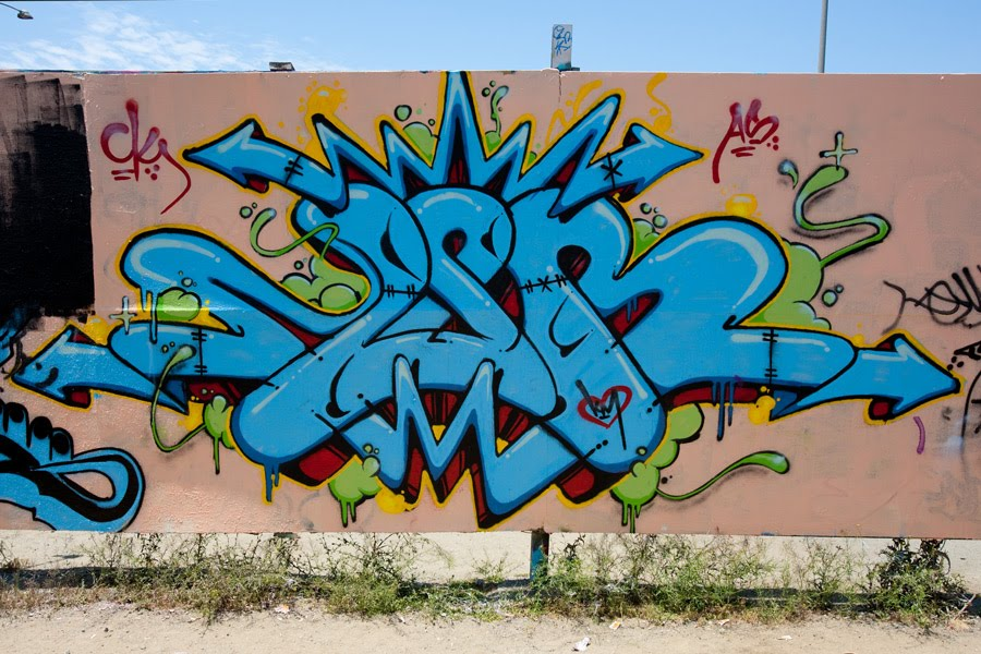 Beauty Block Letter Graffiti