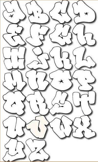New Graffiti Letters