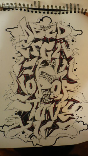 Some Examples Abecedario Graffiti Artwork by Graffiti Artists World