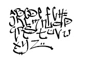 Several Designs Sketches of Graffiti Letters Alphabet (Letras de Graffitis)