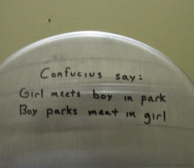 Bathroom Graffiti