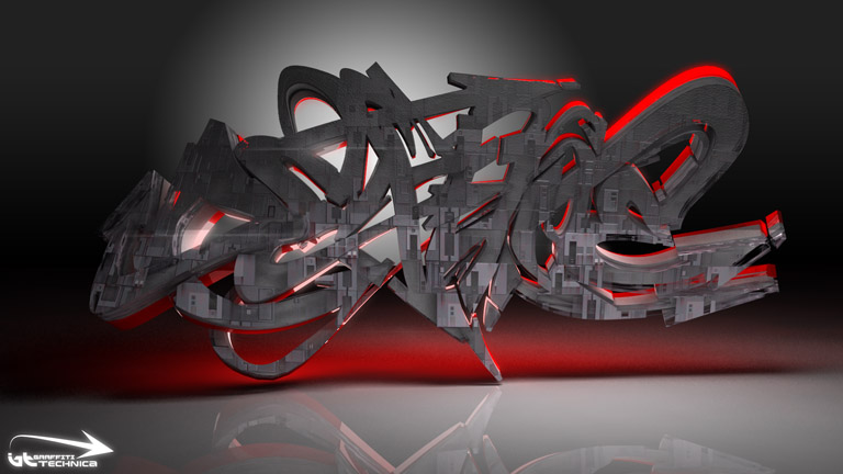 3d wallpaper graffiti. 3D Graffiti Wallpapers And