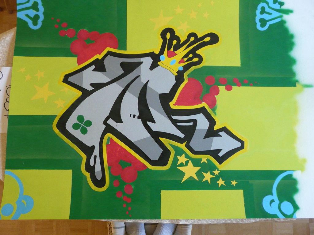 M Graffiti Letters graffiti design: Best ...