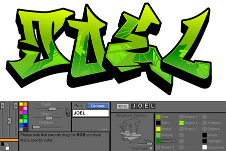 New Graffiti Creator