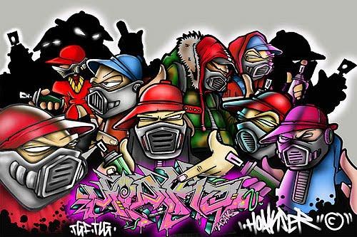 Graffiti Rap Hip Hop