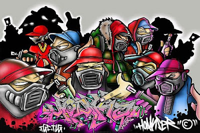 Graffiti Rap ,Hip Hop Graffiti