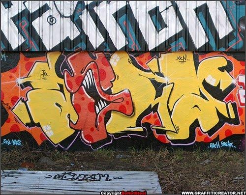the trend of graffiti - photo #4