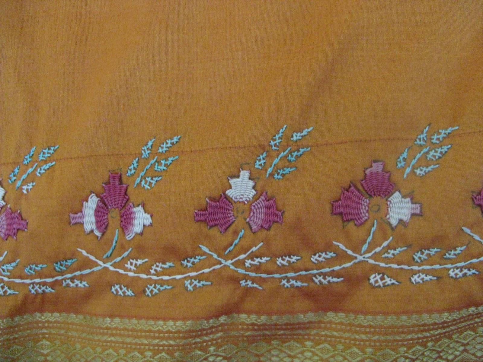 Kamal kadai embroidery