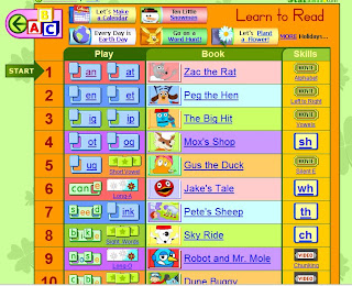 Learn to read with Starfall