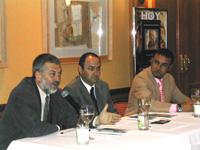 La presentación estuvo a cargo de D. José Ruiz Mata, escritor