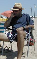 En la playa de Rota