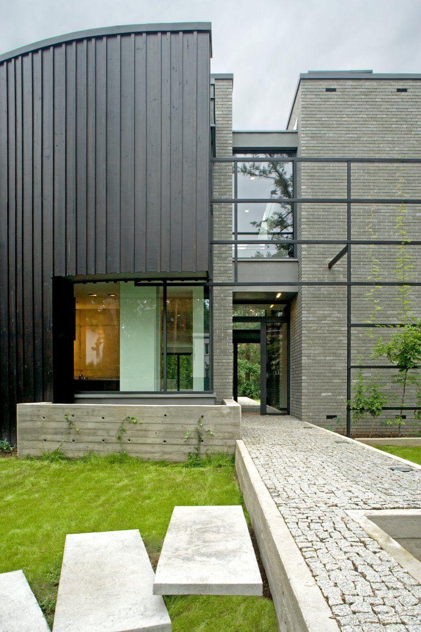 Open Air Sculpture House By Marek Rytych Architekt Housevariety - Open-air-sculpture-residence-by-marek-rytych-architekt